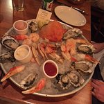 Oysters, shrimps, and Claws