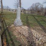 Recreated Grave of Jesse James