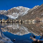 Laurel Mountain reflecting on Convict Lake