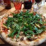 Pizza ortolana plus roquette