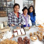In Zuleta village, the local fair