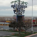 The Montego Bay Sign from front entrance