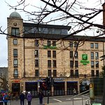 The Holiday Inn in Glasgow, on West Nile Street