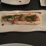 scallops with hollandaise sauce