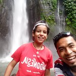 My trip today munduk waterfall thank jan and David
