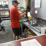The malt maker making my malt!