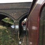 Broadway to Cheltenham train hauled by Dinmore Manor