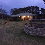 Roolagoonhomestead situated in the middle of kangaroo island