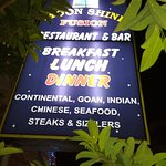 Moonshine Fusion Bar & Restaurant Calangute Goa