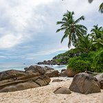 Anse Intendance - Standort vor dem Banyan Tree Resort