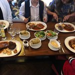 Amazing Sunday lunch with family food was Beond excellent and service was spot on, well done guy