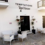Temptations Tea House.