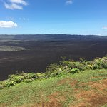 Caldera - shorter 3 hour hike as the volcano was on yellow alert