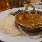 Amazing chicken curry