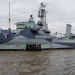 صورة فوتوغرافية لـ HMS Belfast