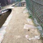 Très belle promenade le long du canal des moines
