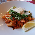 107 Dining - Heswall - Blue Fin Swimming crab with pasta