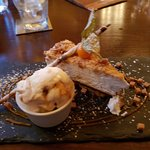 107 Dining - Heswall - Caramel Crunch Cheese Cake