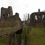 Bridge into Grosmont Castle