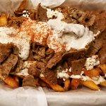 Greek Fries with Gyro