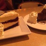 份量十足的蛋糕