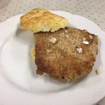 A great steak biscuit
