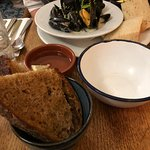 The mussels were wonderful
