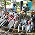Great taste but go for lunch to ensure fish is fresh