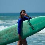 Surfing in Hermosa