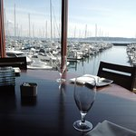 Marina View from table
