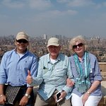 Panoramic view of Cairo from the Citadel