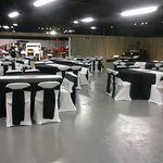 The Event Room, available for rent, seat up to 300 people