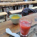 Lunch,,smoothie,soup