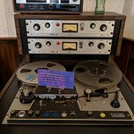 """Original two-track recorder that produced Otis Redding's """"Respect"""" and """"Mr. Pitiful"""""""