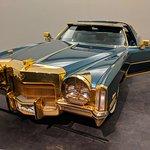 Isaac Hayes' gold-plated 1972 Cadillac