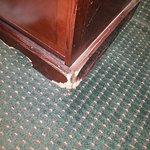 Damage furniture