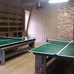 Ping Pong area, WiFi is housed in this building too