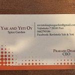 Photo of yak & yeti