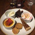 Pudding Tasting Platter
