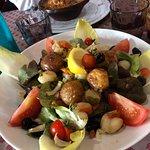 Salade noix de Saint-jacques et Cassoulet.