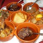 Pratos de carne/caça