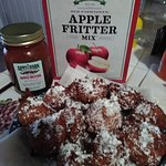 The Apple Barn Cider Mill Fritters!!!!!