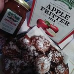 Fritters from The Apple Barn Cider Mill