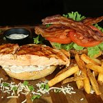 The Salmon BLT, Caney Style!
