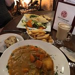 Irish Stew was excellent as was my Bailey's Coffee. Wife had the Cottage Pie.