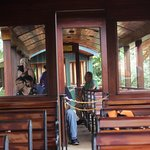 Awesome, rustic train, (only train on Kaua'i)