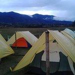 camping en el lago calima