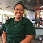 Best Waitress at the Sebring Diner is Linda! We Love her! 2018