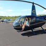 . Helicopter ride!