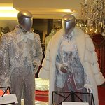 Two of Liberace's costumes